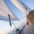 Sailing in the open sea — Stock Photo #7159580