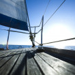 Sailing on Baltic Sea — Stock Photo #7161506