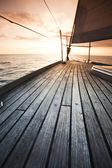 Baltic Sea on Sailing — Stock Photo