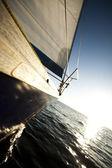 Sea, sun and sail — Stock Photo
