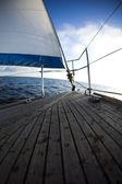 Sailing on the Baltic Sea — Stock Photo