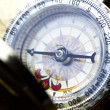 Stock Photo: Detail closeup compass