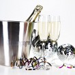 Champagne,New Years, Celebration — Stock Photo