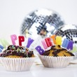 Stock Photo: Happy birthday background