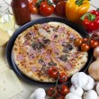 Stock Photo: Tasty Italian pizza