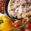 Pizza from the top - Deluxe — Stock Photo #7188898