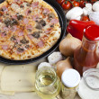 Tasty Italian pizza — Stock Photo #7189141
