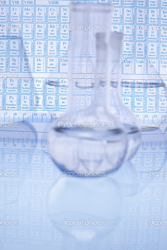 Laboratory glass. — Stock Photo #7182170