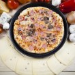 Tasty Italian pizza — Stock Photo #7195417