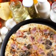 Pizza from the top - Deluxe — Stock Photo #7195500