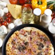 Tasty Italian pizza — Stock Photo #7195507