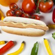 Hot dog — Stock Photo