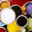 Paint and cans — Lizenzfreies Foto