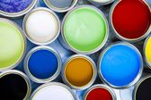 Renkli boya — Stok fotoğraf