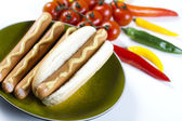 American hot dog — Stock Photo