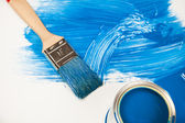 Colorful paint — Stock Photo