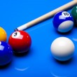Snooker player — Stock Photo #7212659