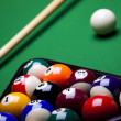 Billiard background - Stock fotografie