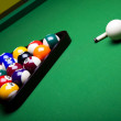Billiard background - Stock Photo