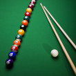 Playing pool — Stock Photo #7216917