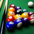 Billiard background — Stock Photo #7219138