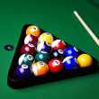 Close-up billiard balls - Stock fotografie