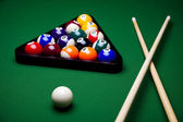 Snooker player — Stock Photo