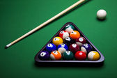 Billiard balls, pool — Stock Photo