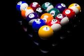 Playing pool — Stock Photo