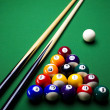 Stock Photo: Billiard background