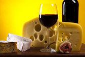 Fresh cheese — Stock Photo