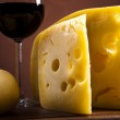 Wine and Cheese — Stock Photo #7230050