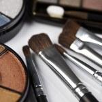 Set of eyeshadows — Stock Photo