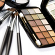 Stock Photo: Palette of eyeshadows