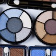 Set of eyeshadows - Stock Photo