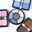 Set of eyeshadows — Stock Photo #7358357