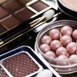 Cosmetics, make up accessories - Stock Photo