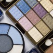Palette of eyeshadows - Stock Photo