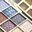 Make up and eyeshadows — Stock Photo