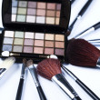 Eyehadows collection, make up - Stock fotografie