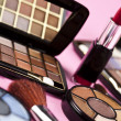 buntes make-up kollektion — Stockfoto #7359490