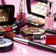 Foto de Stock  : Colorful makeup collection