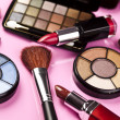 Stock Photo: Colorful makeup collection