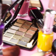 Cosmetics, make up accessories — Stock Photo