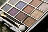 Set of eyeshadows — Stock Photo