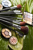 Set of make up cosmetics — Stock Photo