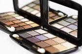 Palette of eyeshadows — Stock Photo