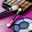 buntes make-up kollektion — Stockfoto #7360771