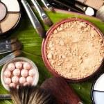 Cosmetics, make up accessories — Stock Photo