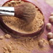 Face powder — Stock Photo